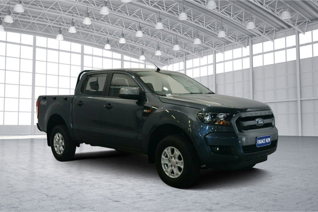 Used Ford Ranger PX MkII XLS Double Cab, 2016 Ford Ranger PX MkII XLS Double Cab Grey 6 Speed Sports Automatic Utility