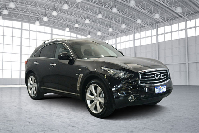 Used Infiniti QX70 S51 S Premium, 2015 Infiniti QX70 S51 S Premium Black 7 Speed Sports Automatic Wagon
