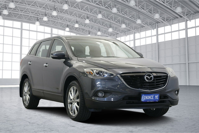 Used Mazda CX-9 TB10A5 MY14 Luxury Activematic AWD, 2013 Mazda CX-9 TB10A5 MY14 Luxury Activematic AWD Grey 6 Speed Sports Automatic Wagon
