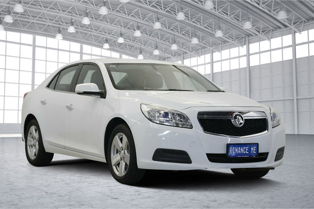 Used Holden Malibu V300 MY15 CD, 2016 Holden Malibu V300 MY15 CD White 6 Speed Sports Automatic Sedan