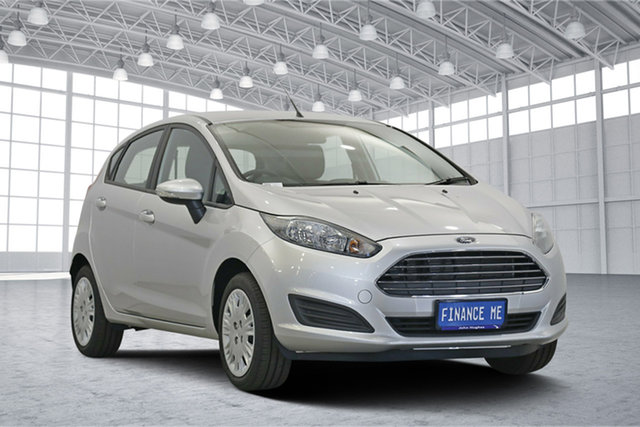 Used Ford Fiesta WZ Ambiente PwrShift, 2017 Ford Fiesta WZ Ambiente PwrShift Ingot Silver 6 Speed Sports Automatic Dual Clutch Hatchback