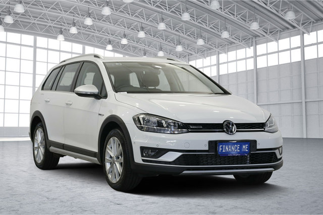 Used Volkswagen Golf 7.5 MY19 Alltrack DSG 4MOTION 132TSI, 2018 Volkswagen Golf 7.5 MY19 Alltrack DSG 4MOTION 132TSI White 6 Speed Sports Automatic Dual Clutch