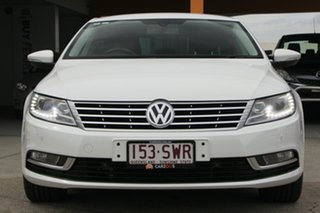 2012 Volkswagen CC Type 3CC MY13 125TDI DSG White 6 Speed Sports Automatic Dual Clutch Coupe