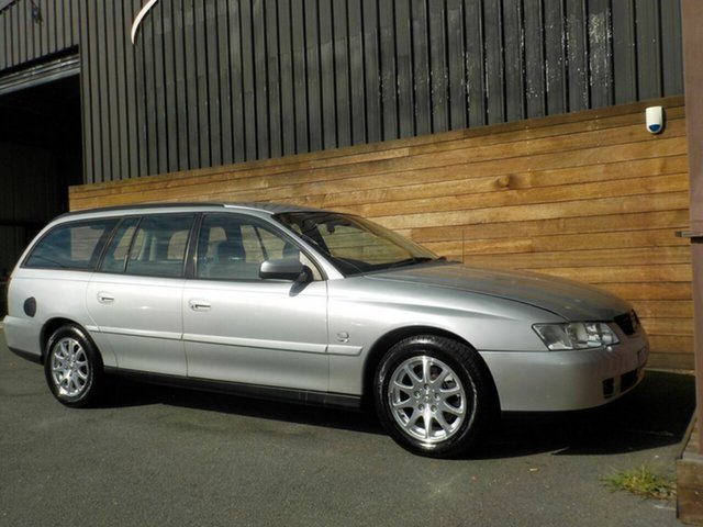 Used Holden Commodore VY Equipe, 2003 Holden Commodore VY Equipe Silver 4 Speed Automatic Wagon
