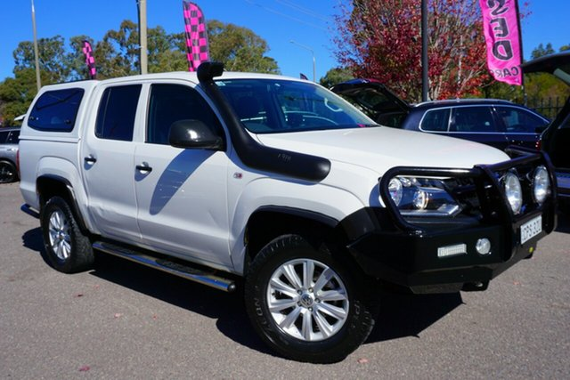 Used Volkswagen Amarok 2H MY14 TDI400 4Mot, 2013 Volkswagen Amarok 2H MY14 TDI400 4Mot Candy White 6 Speed Manual Utility