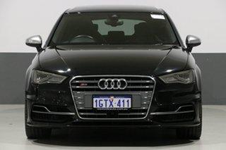 2014 Audi S3 8V MY14 Sportback 2.0 TFSI Quattro Black 6 Speed Direct Shift Hatchback.