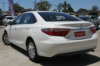 2017 Toyota Camry ASV50R Altise White 6 Speed Sports Automatic Sedan.