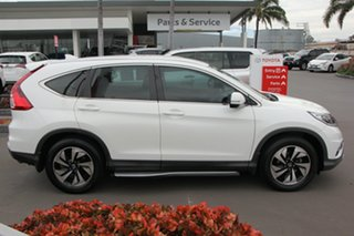 2016 Honda CR-V RM Series II MY17 Limited Edition White 5 Speed Automatic Wagon.