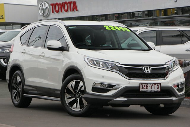Used Honda CR-V RM Series II MY17 Limited Edition, 2016 Honda CR-V RM Series II MY17 Limited Edition White 5 Speed Automatic Wagon