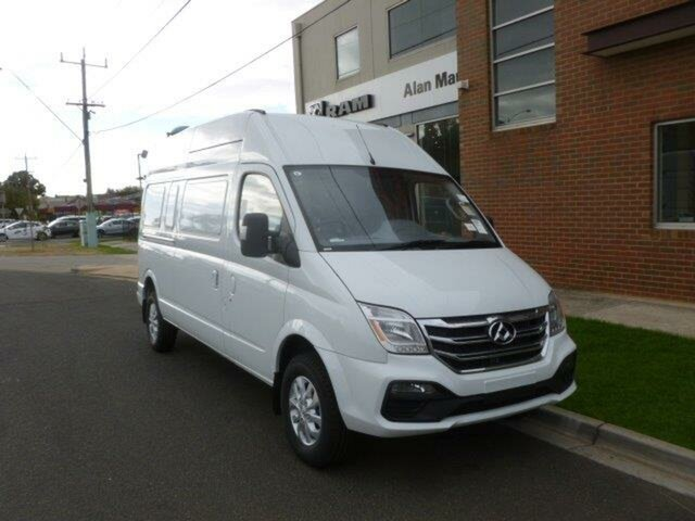 New LDV V80 MY19 High Roof LWB, 2019 LDV V80 MY19 High Roof LWB Blanc White 6 Speed Automated Manual Van