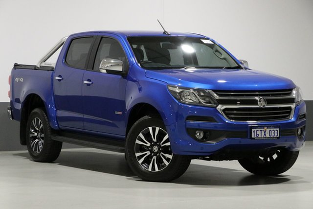Used Holden Colorado RG MY19 LTZ (4x4) (5Yr), 2018 Holden Colorado RG MY19 LTZ (4x4) (5Yr) Blue 6 Speed Automatic Crew Cab Pickup