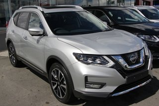 2021 Nissan X-Trail T32 MY21 Ti X-tronic 4WD Brilliant Silver 7 Speed Constant Variable Wagon.