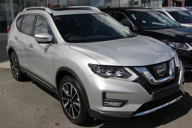 New Nissan X-Trail T32 Series II Ti X-tronic 4WD, 2019 Nissan X-Trail T32 Series II Ti X-tronic 4WD Brilliant Silver 7 Speed Constant Variable Wagon