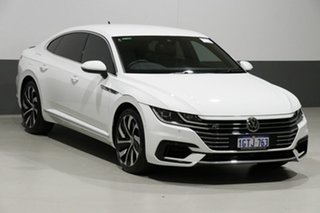 2018 Volkswagen Arteon MY18 206 TSI R-Line White 7 Speed Auto Direct Shift Liftback