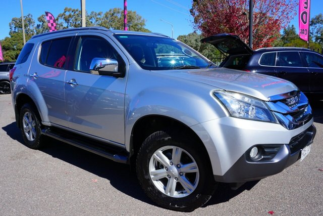 Used Isuzu MU-X MY15 LS-M Rev-Tronic, 2015 Isuzu MU-X MY15 LS-M Rev-Tronic Silver 5 Speed Sports Automatic Wagon