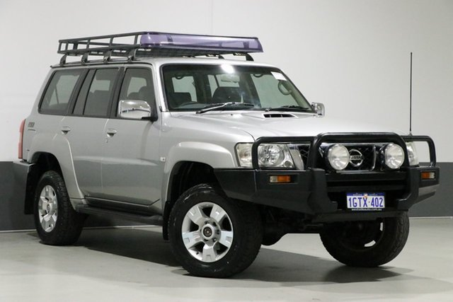 Used Nissan Patrol GU IV ST (4x4), 2004 Nissan Patrol GU IV ST (4x4) Silver 5 Speed Manual Wagon