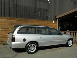 2003 Holden Commodore VY Equipe Silver 4 Speed Automatic Wagon.