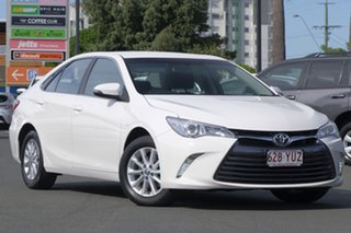 2017 Toyota Camry ASV50R Altise Diamond White 6 Speed Sports Automatic Sedan.