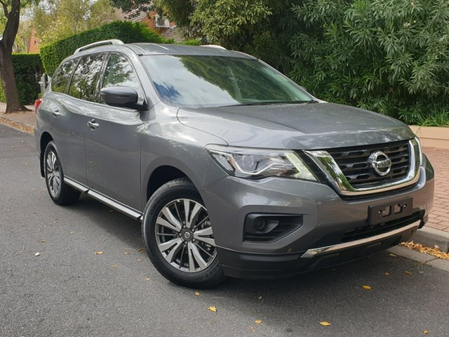 Demo Nissan Pathfinder R52 Series III MY19 ST X-tronic 2WD, 2018 Nissan Pathfinder R52 Series III MY19 ST X-tronic 2WD Gun Metallic 1 Speed Constant Variable