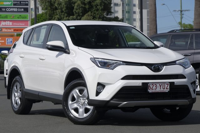 Used Toyota RAV4 ASA44R GX AWD, 2017 Toyota RAV4 ASA44R GX AWD Glacier 6 Speed Sports Automatic Wagon