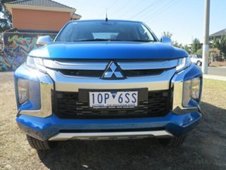 2019 Mitsubishi Triton MR MY19 GLS (4x4) Impulse Blue 6 Speed Automatic Double Cab Pickup