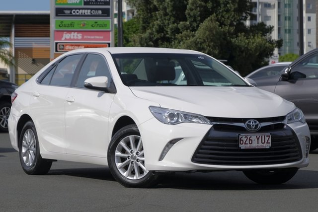 Used Toyota Camry ASV50R Altise, 2017 Toyota Camry ASV50R Altise Diamond White 6 Speed Sports Automatic Sedan