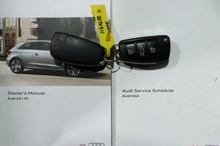 2014 Audi S3 8V MY14 Sportback 2.0 TFSI Quattro Black 6 Speed Direct Shift Hatchback