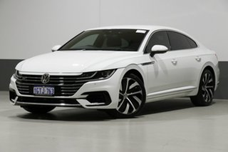 2018 Volkswagen Arteon MY18 206 TSI R-Line White 7 Speed Auto Direct Shift Liftback.