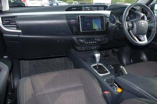 2017 Toyota Hilux GUN126R SR5 Double Cab Nebula Blue 6 Speed Sports Automatic Utility