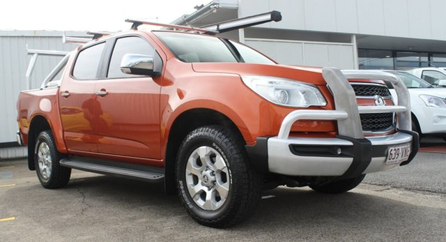 Used Holden Colorado RG MY15 LTZ Crew Cab, 2015 Holden Colorado RG MY15 LTZ Crew Cab Orange 6 Speed Sports Automatic Utility