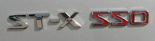 2011 Nissan Navara D40 MY11 ST-X 550 Silver 7 Speed Sports Automatic Utility