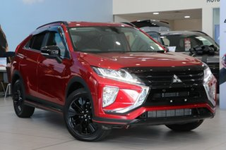 2018 Mitsubishi Eclipse Cross YA MY19 Black Edition 2WD Red Automatic Wagon.