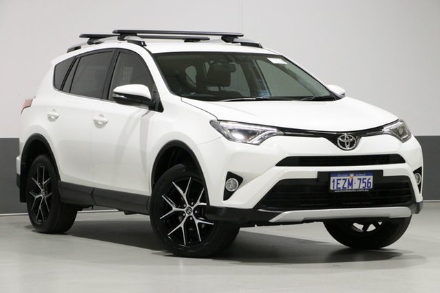 Used Toyota RAV4 ZSA42R MY16 GXL (2WD), 2016 Toyota RAV4 ZSA42R MY16 GXL (2WD) White Continuous Variable Wagon