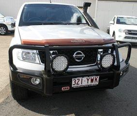 2011 Nissan Navara D40 MY11 ST-X 550 Silver 7 Speed Sports Automatic Utility.