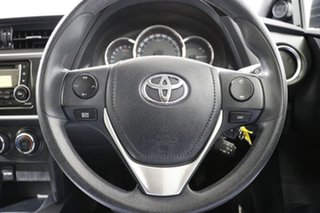 2014 Toyota Corolla ZRE182R Ascent White 7 Speed CVT Auto Sequential Hatchback
