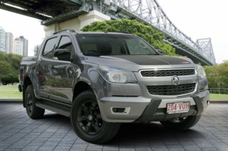 2015 Holden Colorado RG MY16 Z71 Crew Cab Grey 6 Speed Sports Automatic Utility.
