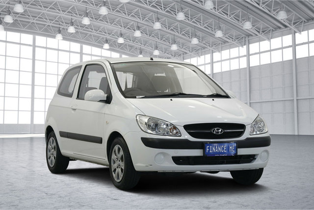 Used Hyundai Getz TB MY09 S, 2009 Hyundai Getz TB MY09 S Noble White 5 Speed Manual Hatchback