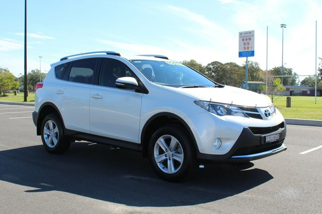 Used Toyota RAV4 ZSA42R MY14 GXL 2WD, 2013 Toyota RAV4 ZSA42R MY14 GXL 2WD White 7 Speed Constant Variable Wagon