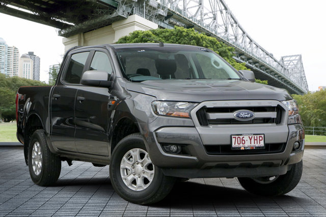 Used Ford Ranger PX MkII 2018.00MY XLS Double Cab, 2018 Ford Ranger PX MkII 2018.00MY XLS Double Cab Grey 6 Speed Sports Automatic Utility