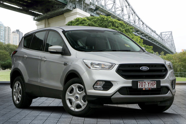 Used Ford Escape ZG 2018.00MY Ambiente 2WD, 2018 Ford Escape ZG 2018.00MY Ambiente 2WD Silver 6 Speed Sports Automatic Wagon