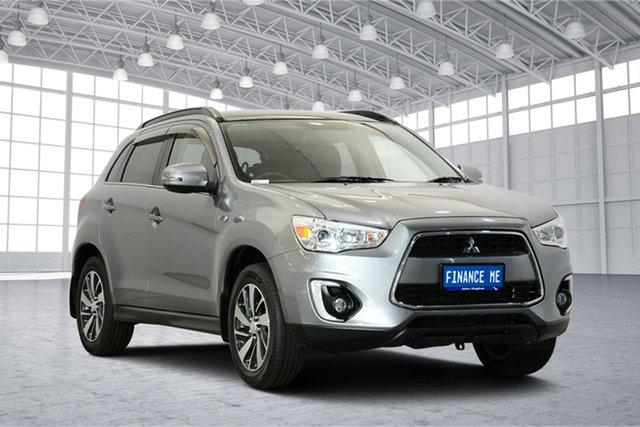 Used Mitsubishi ASX XB MY15 XLS 2WD, 2014 Mitsubishi ASX XB MY15 XLS 2WD Titanium 6 Speed Constant Variable Wagon