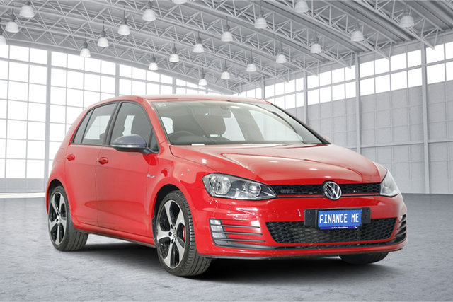 Used Volkswagen Golf VII MY15 GTI DSG, 2015 Volkswagen Golf VII MY15 GTI DSG Tornado Red 6 Speed Sports Automatic Dual Clutch Hatchback