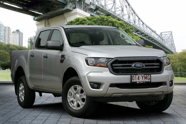 Used Ford Ranger PX MkIII 2019.00MY XLS Pick-up Double Cab, 2018 Ford Ranger PX MkIII 2019.00MY XLS Pick-up Double Cab Silver 6 Speed Sports Automatic Utility