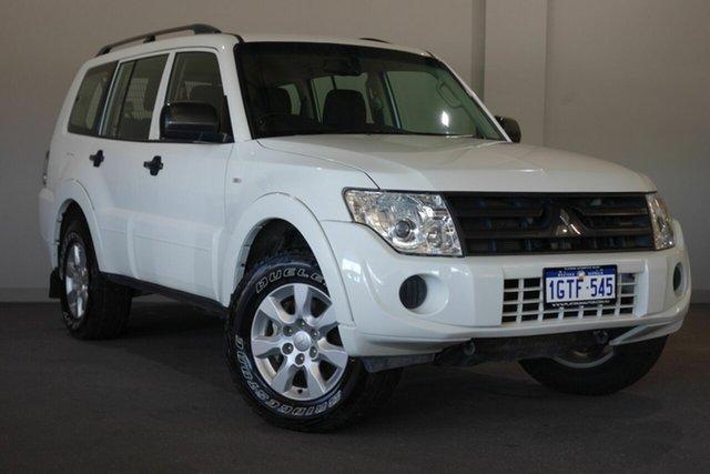 Used Mitsubishi Pajero NW MY14 GLX, 2014 Mitsubishi Pajero NW MY14 GLX White 5 Speed Manual Wagon