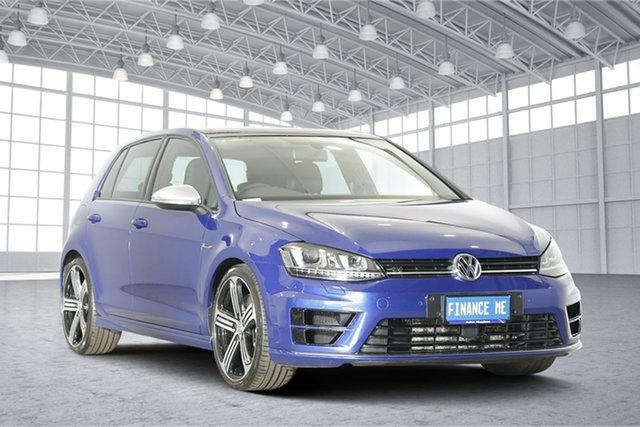 Used Volkswagen Golf VII MY16 R DSG 4MOTION, 2016 Volkswagen Golf VII MY16 R DSG 4MOTION Blue 6 Speed Sports Automatic Dual Clutch Hatchback