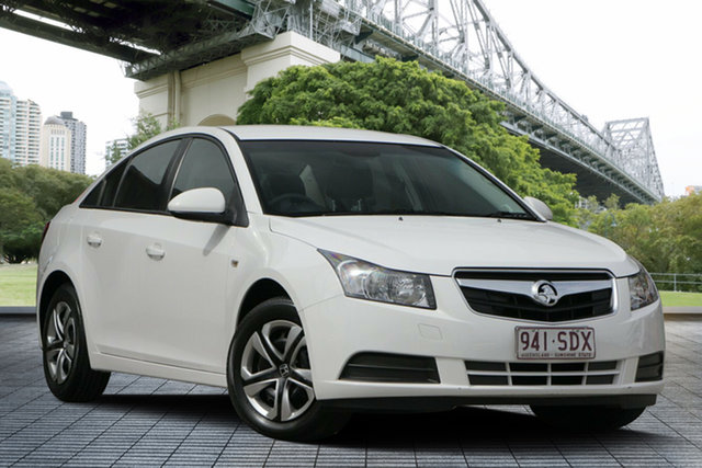 Used Holden Cruze JG CD, 2009 Holden Cruze JG CD White 6 Speed Sports Automatic Sedan