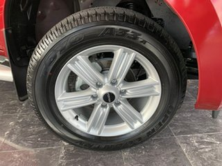 2018 Isuzu D-MAX TF MY18 LS-Terrain HI-Ride (4x4) Magnetic Red 6 Speed Automatic Crew Cab Utility.