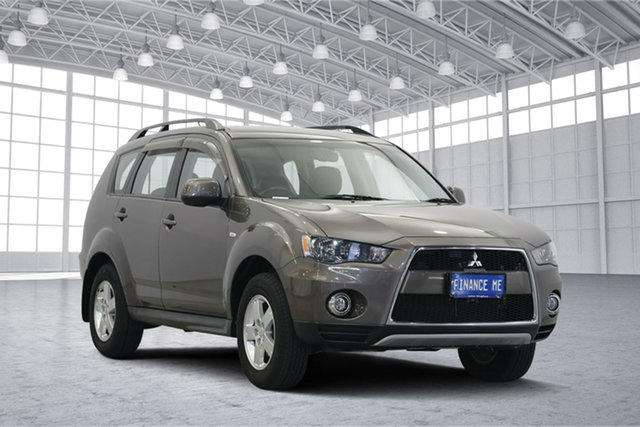 Used Mitsubishi Outlander ZH MY12 LS, 2012 Mitsubishi Outlander ZH MY12 LS Ironbark 6 Speed Constant Variable Wagon