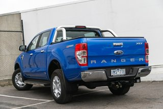 2018 Ford Ranger PX MkII 2018.00MY XLT Double Cab 4x2 Hi-Rider Blue 6 Speed Sports Automatic Utility