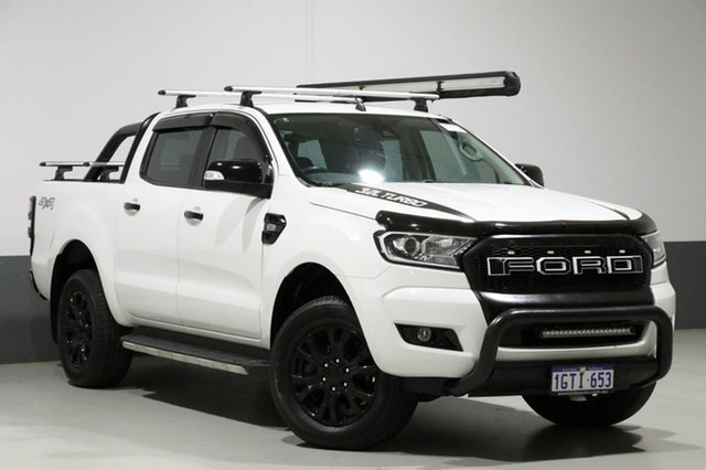 Used Ford Ranger PX MkII XLT 3.2 (4x4), 2016 Ford Ranger PX MkII XLT 3.2 (4x4) White 6 Speed Manual Dual Cab Utility